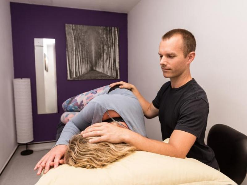cranio-sacral therapist at Reab